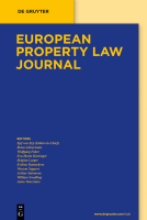 Abbildung: European Property Law Journal (EPLJ)
